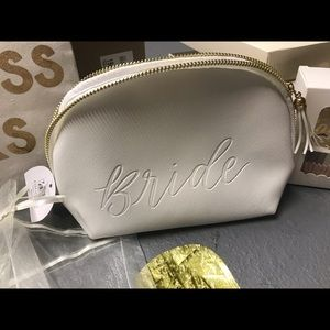 "Handbags - ""Bride"" make up bag"